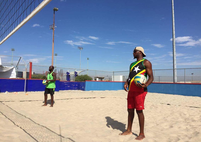 Beach volleyball camp mexico
