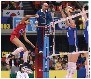 Fotos cortes�a de FIVB Photo Galleries
